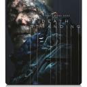 Death Stranding. cover art & SteelBook art