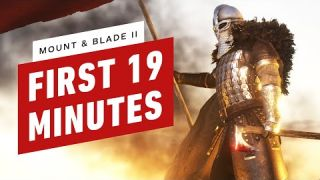 Mount & Blade II: Bannerlord - First 19 Minutes of Gameplay