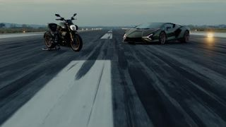 Introducing the new Ducati Diavel 1260 Lamborghini